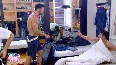 Secret Story (SS11) : gros clash entre Bryan et Benjamin... les deux hommes en viennent aux mains ! (VIDEO)