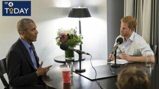 """""""Slip ou caleçon ? Titanic ou Bodyguard ?""""... L'interview insolite de Barack Obama par le prince Harry (VIDÉO)"""