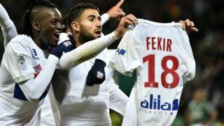 Saint-Etienne/Lyon : Nabil Fekir regrette les conséquences de son geste