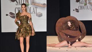 Camille Lou, Silvia Notargiacomo... Elles ont fait le show au Salon du Chocolat 2017 ! (9 PHOTOS)