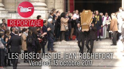 """Obsèques de Jean Rochefort : pour Guy Bedos, """"il était magnifique, c'était l'élégance…"""" (VIDEO)"""