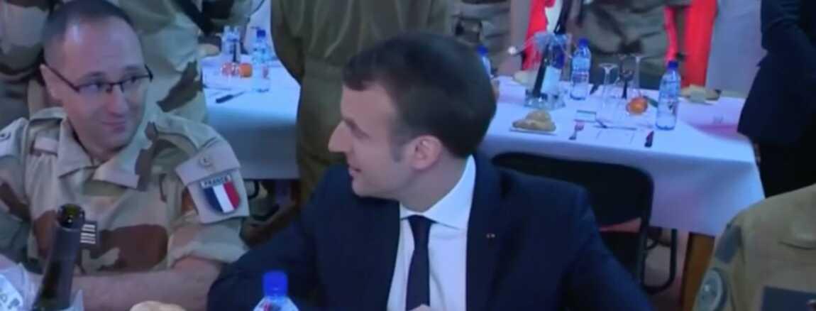 Reveillon En Avance Et Anniversaire En Retard Pour Emmanuel Macron