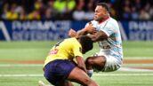 Le club de Clermont donne des nouvelles du rugbyman Samuel Ezeala qui a subi un violent KO (PHOTOS)