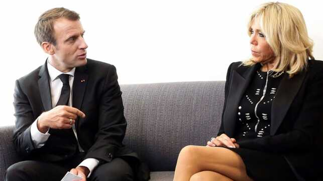 Brigitte Et Emmanuel Macron Celebrent Leurs Dix Ans De Mariage Ou
