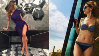 Instagram : Iris Mittenaere divine en robe fendue, Heather Graham torride en bikini (30 PHOTOS)
