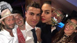 Zidane, Ronaldo, Manaudou, Beckham... découvrez comment les stars du sport ont fêté le Nouvel An 2018 ! (15 PHOTOS)
