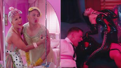 Channing Tatum découvre les plaisirs SM dans le nouveau clip délirant de Pink ! (VIDEO)