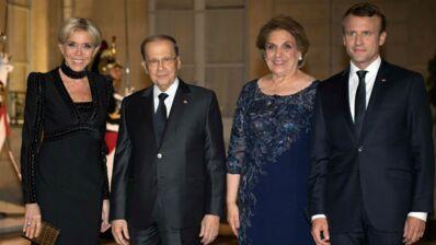 Brigitte Macron, très très élégante au premier dîner d'état à l'Elysée (PHOTOS)