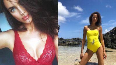 Instagram : Irina Shayk aime la dentelle, Noémie Lenoir pose en maillot de bain... (31 PHOTOS)
