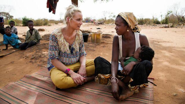 """Nouvelle ambassadrice d'Unicef France, Elodie Gossuin : """"C'est une reconnaissance de ce que je fais à leurs côtés"""""""