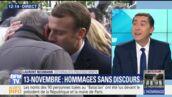 Brigitte et Emmanuel Macron très émus aux commémorations du 13 novembre (VIDÉO)