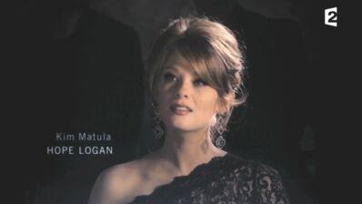 Amour, gloire et beauté (France 2) : découvrez la nouvelle Hope Logan