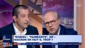 """Hors de lui, Laurent Joffrin insulte Mourad Boudjellal sur LCI : """"Vous êtes un pignouf !"""""""