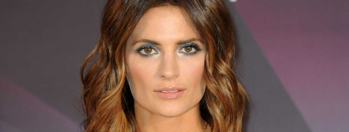 Stana Katic Looked Lovely With Her Flippy Waves During The Music Center S 50th Anniversary Spectacular
