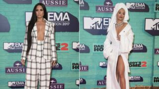 Demi Lovato seins nus, Rita Ora en peignoir... aux MTV EMA 2017 (PHOTOS)
