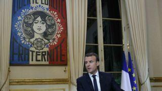 Qui est Obey, l'auteur de l'œuvre la Marianne qui était derrière Emmanuel Macron ?
