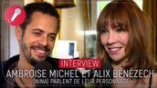 "Ambroise Michel (Nina, France 2) : ""Fred va devenir brancardier"" (VIDÉO)"