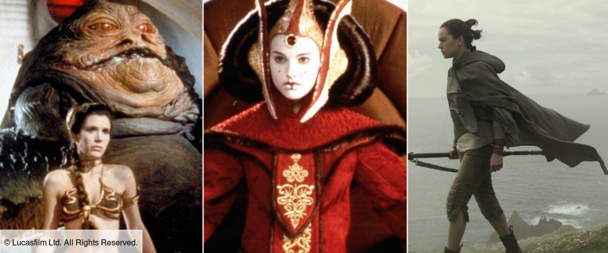 Star Wars Disney Princesse Leia La Reine Amidala Rey Une Galaxie De Femmes Photos