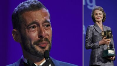 Guillermo del Toro, Charlotte Rampling et le Français Xavier Legrand, en larmes, sacrés à Venise : le palmarès et le tapis rouge de la Mostra (PHOTOS)