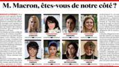 """Violences sexuelles : plus de 100 femmes célèbres réclament un """"plan d'urgence"""" à Emmanuel Macron"""