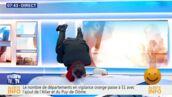 Christophe Barbier rappe et fait le poirier... Twitter se déchaîne et il répond ! (VIDEO)