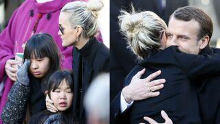 Hommage à Johnny Hallyday : Jade et Joy en larmes, Emmanuel Macron apporte son soutien... (PHOTOS)