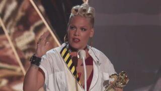 Découvrez le message émouvant que Pink a adressé à sa fille aux MTV Vidéo Music Awards