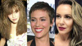 Alyssa Milano a vraiment essayé tous les styles de coiffure ! (PHOTOS)