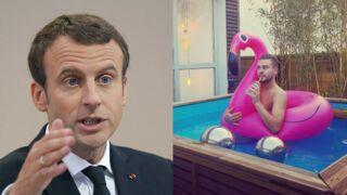 Emmanuel Macron : le président bientôt dans le bain de Jeremstar ?