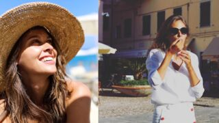 Glaces, soleil et dolce vita : Ophélie Meunier profite de l'été avant son retour sur les plateaux (10 PHOTOS)
