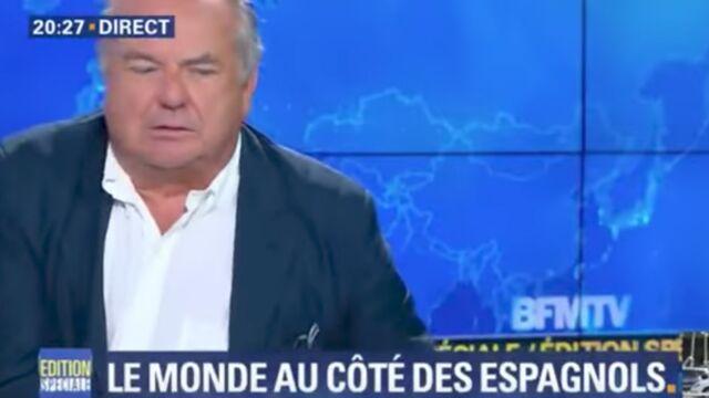 Coup de gueule en direct contre les journalistes sur BFMTV : Bernard de la Villardière apporte son soutien à Alain Marsaud (VIDÉO)