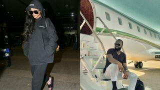 Rihanna, Maitre Gims... Les people osent les claquettes-chaussettes (12 PHOTOS)
