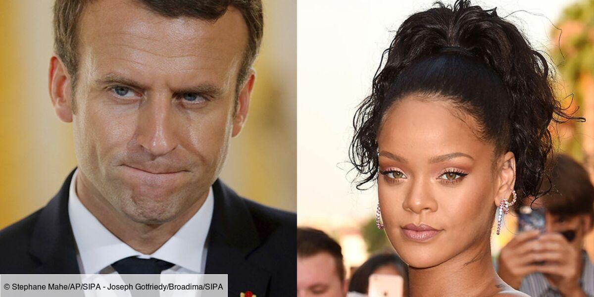 Rencontre Emmanuel Macron Rihanna Les Internautes Se Dechainent Et C Est Tres Drole Revue De Tweets