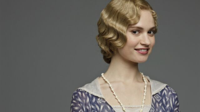 Lily James, l'étoile montante de Downton Abbey