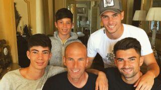 Torses nus, les fils de Zinédine Zidane exhibent leurs corps musclés ! (PHOTOS)
