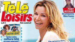 A la Une de Télé-Loisirs : Ingrid Chauvin, star de l'été avec Demain nous appartient (TF1)