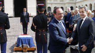 Brigitte et Emmanuel Macron, François Hollande, Nicolas Sarkozy... Le monde politique rend hommage à Simone Veil (15 PHOTOS)