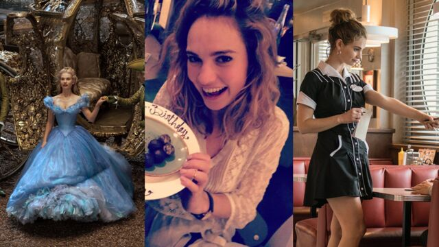 Baby Driver : Lily James, actrice discrète mais rayonnante dans ce thriller vrombissant (PHOTOS)