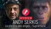 Andy Serkis (La Planète des singes - Suprématie) : le héros César, c'est lui… bardé de capteurs ! (VIDEO)