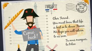 Insolite : quand la police envoie des cartes postales aux criminels en cavale