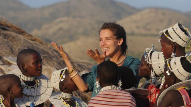 """Mélissa Theuriau (Rendez-vous en terre inconnue) : """"J'ai tenu le coup grâce aux enfants massaïs"""""""