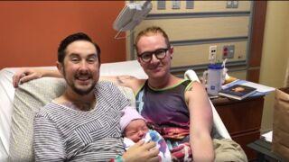 Le transgenre américain Trystan Reese a enfin accouché d'un petit Leo !