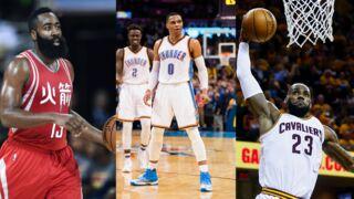 Basket (NBA) : Westbrook, Harden, LeBron James... Qui a été élu meilleur joueur de la saison ?