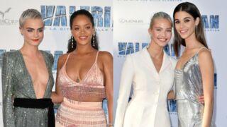 Rihanna et Cara Delevingne décolletées, mannequins sexy… Tapis rouge glamour pour Valerian à Paris ! (23 PHOTOS)