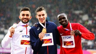 Mondiaux d'athlétisme : quand Pierre-Ambroise Bosse change les paroles de la Marseillaise...