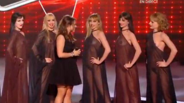 Avez-vous été choqués par les danseuses nues dans The Voice ?