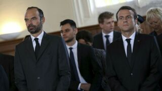Emmanuel Macron a assisté à la messe en hommage au père Hamel (VIDEO)