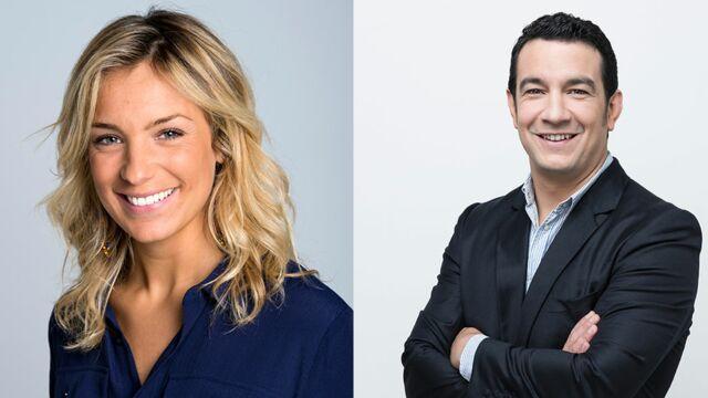 Thomas Thouroude, Céline Géraud, Clémentine Sarlat... Du changement au service des sports de France Télévisions !