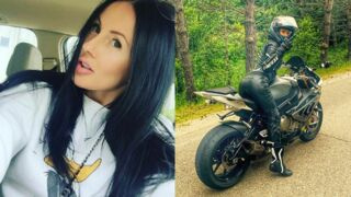 Une motarde russe star d'Instagram se tue dans un dramatique accident