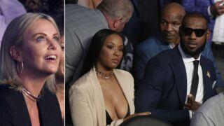 J. Lo et son nouveau chéri, LeBron James, Charlize Theron… le combat du siècle Mayweather-McGregor a fait le plein de stars (PHOTOS)